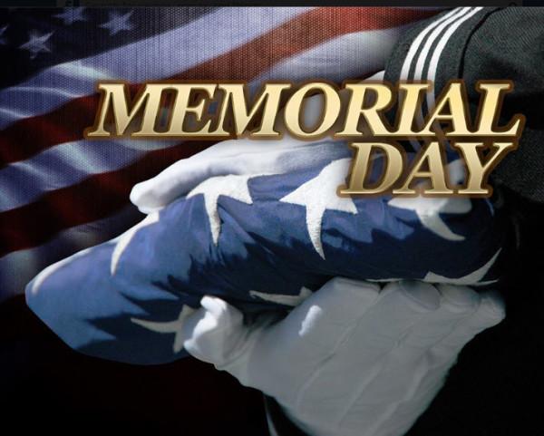 Memorial Day, honoring fallen soldiers