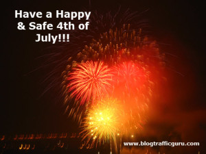 4th of July, 4th of July celebration, 4th of July fireworks, Ed Sykes, Fireworks, Happy 4th of July, social media marketing, social media, blog, blogging, Blog Traffic Guru, VA