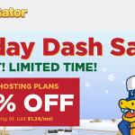 Hostgator Holiday Dash Sale: 75% Off New Hosting!