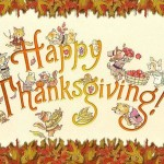 Happy Thanksgiving to All!  A Day to Give Thanks for Opportunities!!!